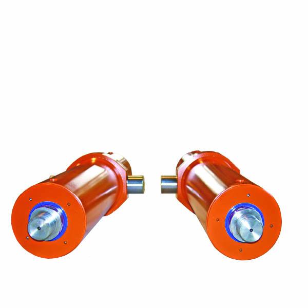 serie di cilindri oleodinamici idraulici