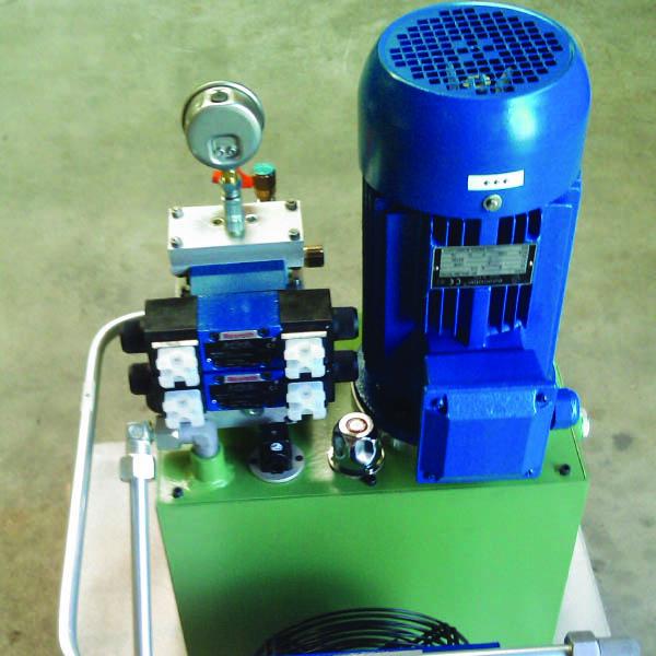 Centrale oleodinamica per impianto di produzione